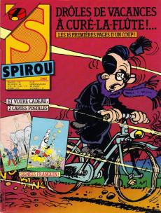 Extrait de (Recueil) Spirou (Album du journal) -180- Spirou album du journal