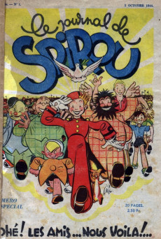 Extrait de (Recueil) Spirou (Album du journal) -15- Spirou album du journal