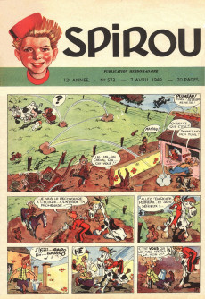 Extrait de (Recueil) Spirou (Album du journal) -29- Spirou album du journal