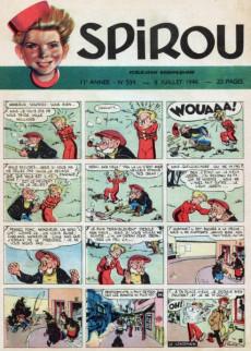 Extrait de (Recueil) Spirou (Album du journal) -26- Spirou album du journal