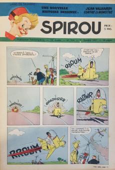 Extrait de (Recueil) Spirou (Album du journal) -39- Spirou album du journal