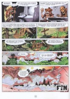 Extrait de Spirou et Fantasio -41a98- La vallée des bannis