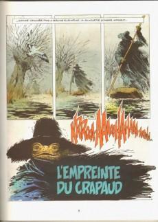 Extrait de Bob Morane 3 (Lombard) -26a1992- L'empreinte du crapaud