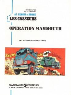 Extrait de Les casseurs - Al & Brock -3'- Opération Mammouth