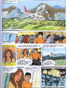 Extrait de Bob Morane 3 (Lombard) -60- Les larmes du soleil