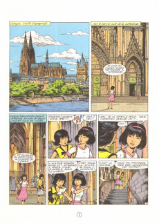 Extrait de Yoko Tsuno -19- L'or du Rhin