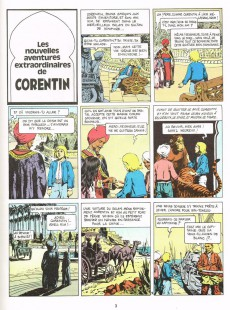 Extrait de Corentin (Cuvelier) -2a1979- Les nouvelles aventures de Corentin