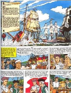 Extrait de Barbe-Rouge (L'intégrale) -5- Le pirate sans visage