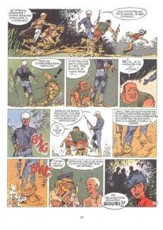 Extrait de Bernard Prince -3c1980- La frontière de l'enfer