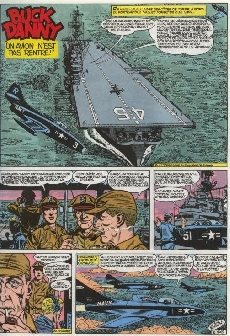 Extrait de Buck Danny (Tout) -5- Pilotes de porte-avions