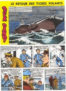 Extrait de Buck Danny (Tout) -9- Le retour des Tigres Volants