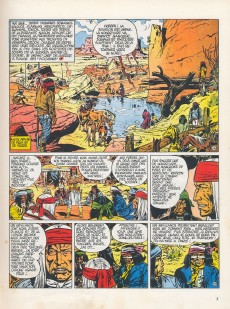 Extrait de Blueberry -5a71- La piste des Navajos