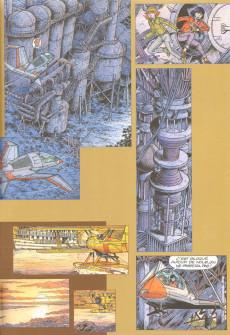 Extrait de Yoko Tsuno -24TL- Le septième code - Esquisses d'une œuvre