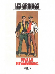 Extrait de Les gringos -1'- Viva la revolucion !
