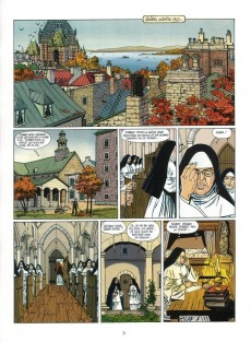 Extrait de Victor Sackville -19- La nonne de Québec