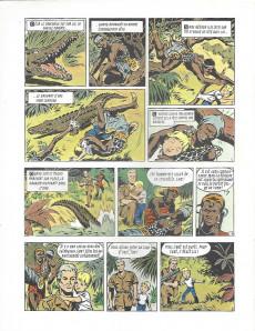 Extrait de Safari (Vandersteen) -9- La danse du serpent