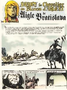 Extrait de Blason d'Argent -8a- L'aigle de Bratislava
