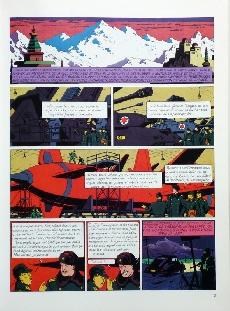 Extrait de Blake et Mortimer -1TL- Le Secret de l'Espadon - Tome 1