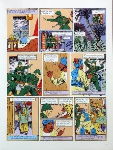 Extrait de Blake et Mortimer (Les Aventures de) -2TL- Le Secret de l'Espadon - Tome 2