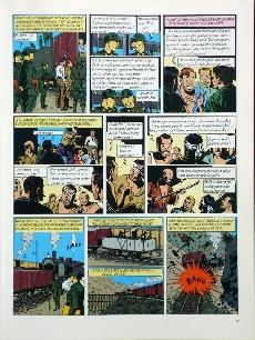 Extrait de Blake et Mortimer -3TL- Le Secret de l'Espadon - Tome 3