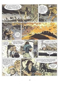 Extrait de Bernard Prince -10- Le souffle de Moloch