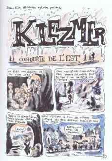 Extrait de Klezmer -1- Conquête de l'Est