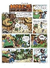 Extrait de Marine (Les mini aventures de) -4- Le lac maudit