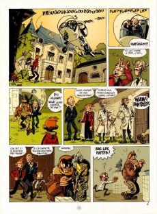 Extrait de Spirou et Fantasio par... (Une aventure de) / Le Spirou de... -1- Les géants pétrifiés
