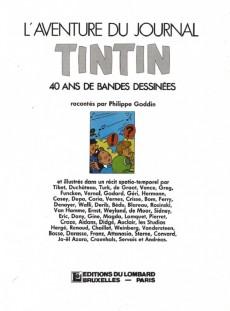 Extrait de (DOC) Journal Tintin -5- L'Aventure du journal Tintin - 40 ans de bande dessinée