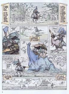 Extrait de La quête de l'oiseau du temps -2e2001- Le temple de l'oubli