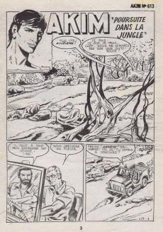 Extrait de Akim (1re série) -613- Poursuite dans la jungle