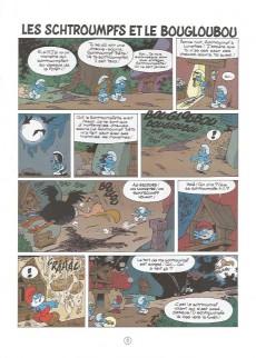 Extrait de Les schtroumpfs -Pir1- Les Schtroumpfs et le Bougloubou