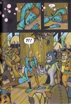 Extrait de Star Wars - Clone Wars Episodes -5- Jedi en danger !