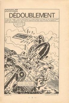 Extrait de Hulk (1re Série - Arédit - Flash) -4- Dédoublement