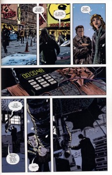 Extrait de Gotham Central -31- Pris pour cible