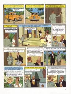 Extrait de Blake et Mortimer (Les Aventures de) -5- Le mystère de la grande pyramide T2