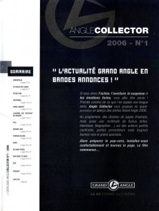 Extrait de Angle collector - 2006 - n° 1/2