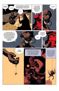 Extrait de Hellboy (Delcourt) -7- Le troisième souhait