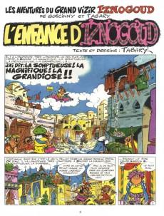 Extrait de Iznogoud -15- L'enfance d'Iznogoud