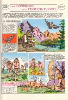 Extrait de Histoire de l'Ain en bandes dessinées -1- Des cavernes aux châteaux forts
