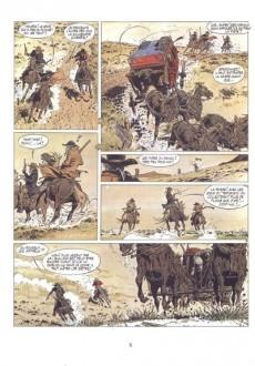 Extrait de Comanche -3- Les loups du Wyoming