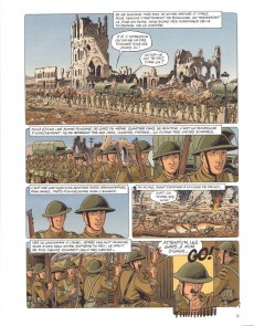 Extrait de Ypres memories -1- Le cahier du Sergent Henry (Ypres 1916-1918)