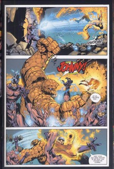 Extrait de Fantastic Four (Marvel Deluxe) -2- Coup de force