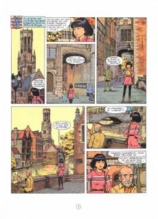 Extrait de Yoko Tsuno -20Pub- L'astrologue de Bruges