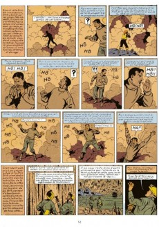 Extrait de Blake et Mortimer (Les aventures de) (Historique) -6f1977- L'Énigme de l'Atlantide