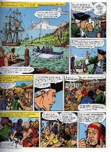 Extrait de Barbe-Rouge -31- La guerre des pirates