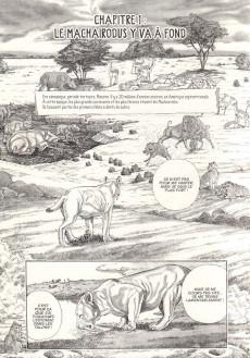Extrait de Encyclopédie des animaux de la préhistoire