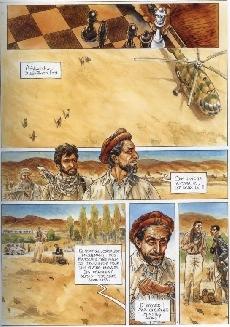 Extrait de Rebelles -4- L'afghan - Massoud