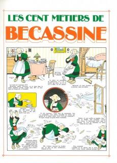 Extrait de Bécassine -7d94- Les cent métiers de Bécassine
