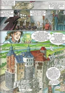 Extrait de Les aventures d'Aline -4- Montbéliard la fiancée des Wurtemberg
